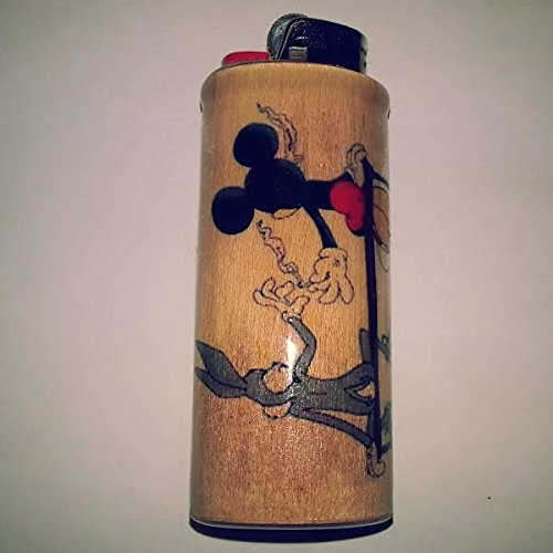 Bugs-Bunny-Mickey-Mouse-Joint-Pass-Lighter-Case-Weed-Marijuana-Ganja-Lighter-Holder-Lighter-Sleeve