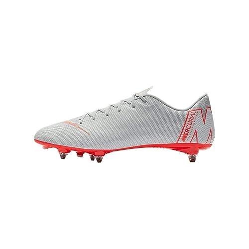 sports shoes 06c12 385e6 NIKE Vapor 12 Academy SG, Zapatillas de Deporte Unisex Adulto: Amazon.es:  Zapatos y complementos