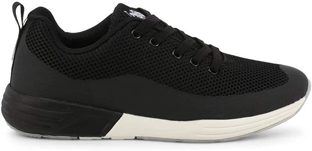 U.S Polo Men Black Sneakers
