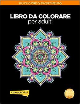 Amazonit Libro Da Colorare Per Adulti Antistress Mandala