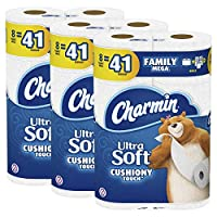 Deals on Charmin Ultra Soft Cushiony Touch Toilet Paper 24 Mega Rolls