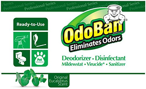 OdoBan 911062G4 Concentrated Odor Eliminator, Eucalyptus, 1gal Bottle (Case of 4) by OdoBan (Image #3)