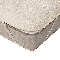IDC OTSUKA(大塚家具) ベッドパッド コティー2 ホワイト クイーンロング 固定ゴム付