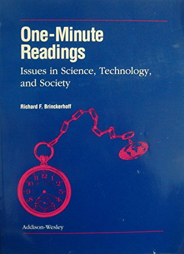ONE-MINUTE READINGS ISSUES IN SCIENCE, TECHNOLOGY AND SOCIETY STUDENT   EDITION (DALE SEYMOUR SCIENCE)