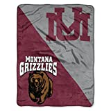 "Montana Grizzlies ""Halftone"" Micro Raschel Throw"