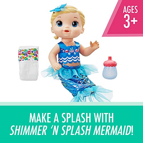Baby Alive Shimmer 'n Splash Mermaid (Blonde Hair)