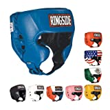 Ringside Competition Boxing Muay Thai MMA Sparring Head Protection Headgear with Cheeks