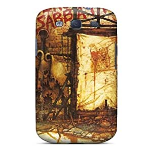 NUVel6257oGMtY Tpu Phone Case With Fashionable Look For Galaxy S3 - Black Sabbath