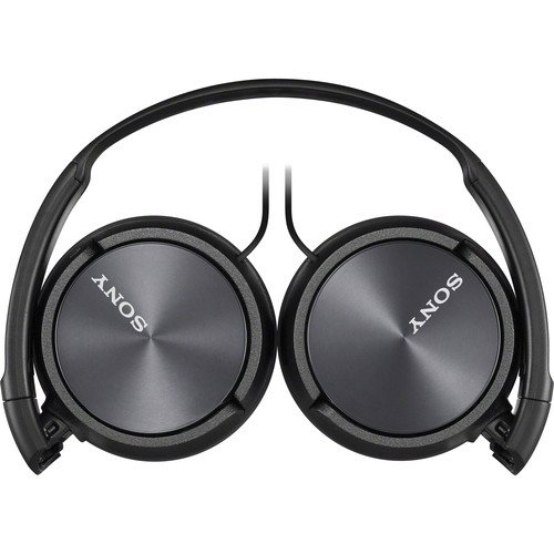 Sony Premium Lightweight Extra Bass Stereo Headphones (Black)