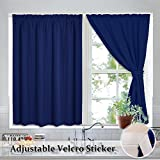 Best Home Back Tab Curtains - Room Darkening Curtains for Bedroom - RYB HOME Review