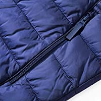 BLUE CHILL Mens Hooded Packable Quilted Light Weight Outwear Winter Jacket