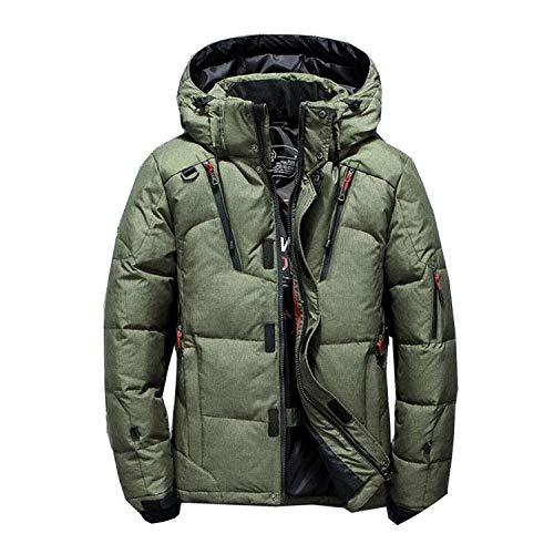 [해외]두꺼운 캐주얼 패션 다운 재킷 겨울 따뜻한 화이트 오리 다운 남성 후드 다운 자 켓 / Thick Casual Fashion Down Jacket Winter Warm White Duck Down Men`s Hooded Down Jacket
