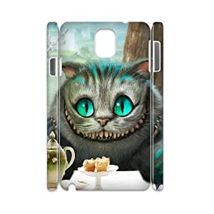Cool Painting Popular Diy samsung galaxy note 3 N9000 case Alice in Wonderland, Customized note 3 case MK283215