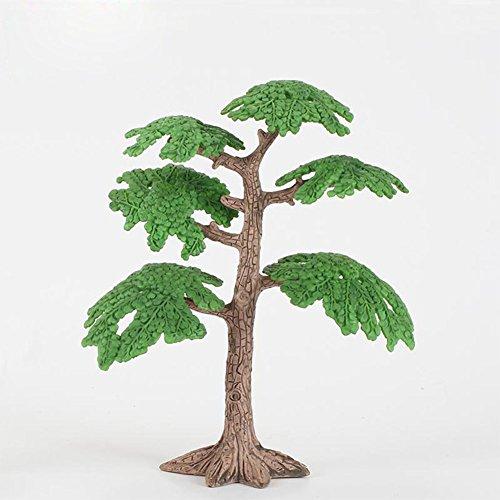 ETbotu Modelo Árbol Artificial Miniatura Simulación Micro Bonsai Plantas Coco Árbol de Pino Arena Juego De Mesa Modelo...