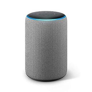 Echo Plus (2nd Gen) - Premium sound with built-in smart home hub - Heather Gray