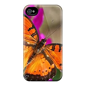 iphone covers Bumper Hard Cell-phone Case For Iphone 5c (mPG3792HyyZ) Provide Private Custom Vivid Butterfly Image
