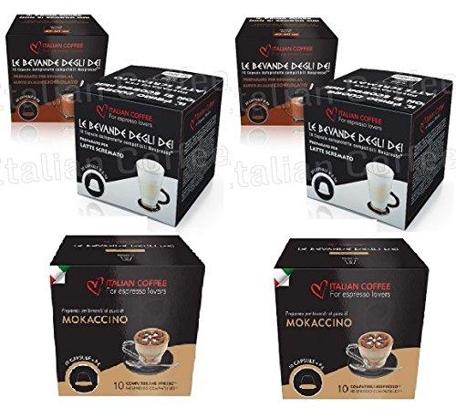 Capsulas Compatibles Nespresso® Chocolate con Leche Degustacion 60 Cápsulas: Amazon.es: Alimentación y bebidas