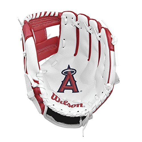 fan products of Wilson A200 Los Angeles Angels Glove, Left Hand, 10