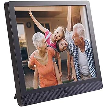 Amazon com : NIX 15 inch Hi-Res Digital Photo Frame with Motion