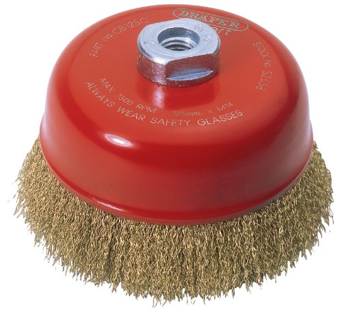 Draper Expert 125Mm X M14 Crimped Wire Cup Brush
