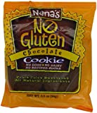 Nana's Gluten Free Chocolate Cookies, 3.5-Ounce Packages (Pack of 12)