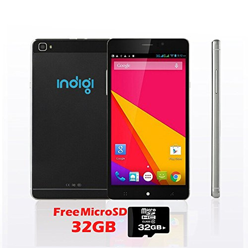 Indigi Factory Unlocked 6'' DigitalCamera Android 3G Smart Phone GSM+WCDMA GPS - Free 32gb microSD! by inDigi