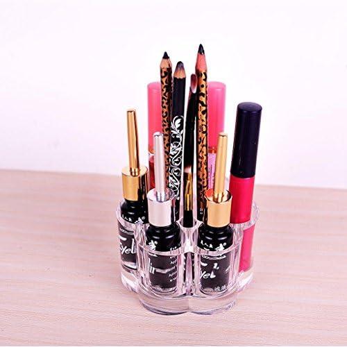 Ben Fa Creative Prune Styling cosmétique Boîte de Rangement Rouge à Lèvres Lip Gloss Rouge à Lèvres Maquillage Mascara Sourcils Crayon Bureau Boîte de Rangement