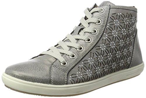 Femme Hautes Gris Remonte Sneakers D9193 WTqEwvO8w7