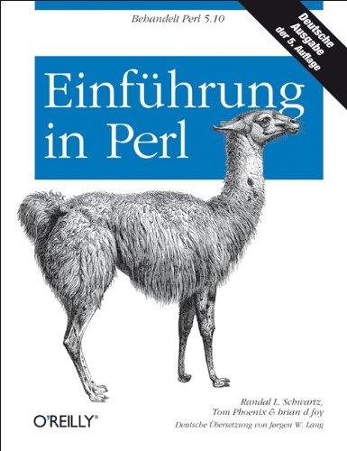 Einführung in Perl Gebundenes Buch – 1. Januar 2009 Tom Phoenix Randal L. Schwartz brian d foy Einführung in Perl