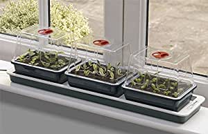 Garland Electric Heated Windowsill Propagator - 3 Trays