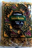 Trader Joe's California Golden Raisins, Plump & Tangy /16 Oz., 454g.