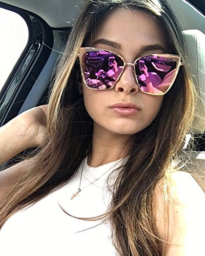 33bb332670 Diff Eyewear Becky Sunglasses Pink (Rose Gold Pink)  Amazon.ca  Clothing    Accessories