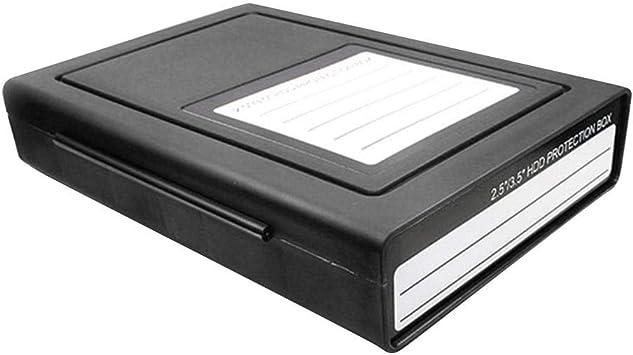 iFlymisi Caja De Protección De Disco Duro, 2.5/3.5 Pulgadas Caja ...