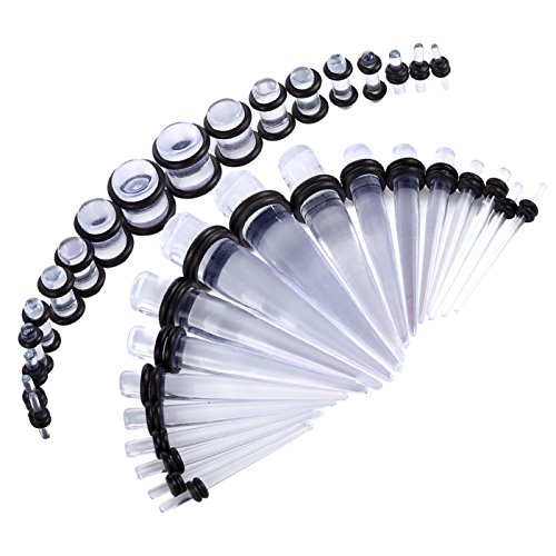 Acrylic Tapers Plugs - 9