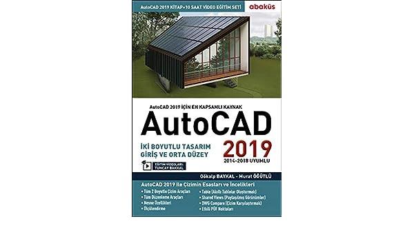 AutoCAD 2019 (Video Eğitim Seti): Amazon.es: Gökalp Baykal, Murat Öğütlü, Tuncay Bakkal: Libros