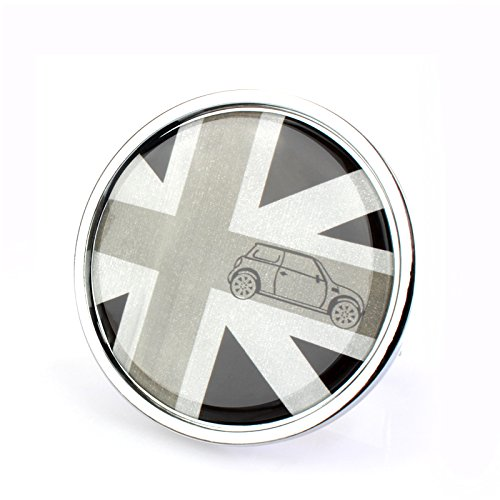 LVBAO Front Hood Bonnet Front Grille Decal Decorative Emblem Badge Metal for Mini Cooper S/JCW/ONE Clubman Countryman Paceman Hardtop Hatchback Coupe Roadster F54 F55 F56 F57 F60 R61 R60 R56 R55 (5)