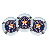 Houston Astros Baseball Party Decoration 18'' Balloons - Set of 3