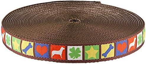 Country Brook Design® Dog Blocks Grosgrain Ribbon