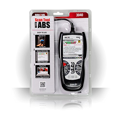 Innova 3040d Diagnostic Code Reader/Scan Tool with ABS and Live Data for OBD2 Vehicles by Innova (Image #3)