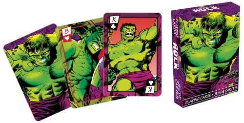 Aquarius Marvel Hulk Series 2 Comic Playing Cards