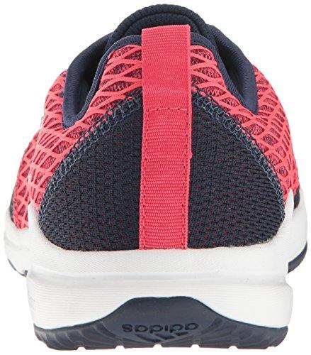 adidas Frauen Arianna Cloudfoam Cross-Trainer Schuh Collegiate Navy / Metallic Silber / Pink
