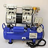 Automatic Vacuum System w/Twin piston oilfree oilless High Performance Vacuum Pump 5.5 CFM 3/4 HP Tank Capacity 10 Liters Control Switch Inch HG