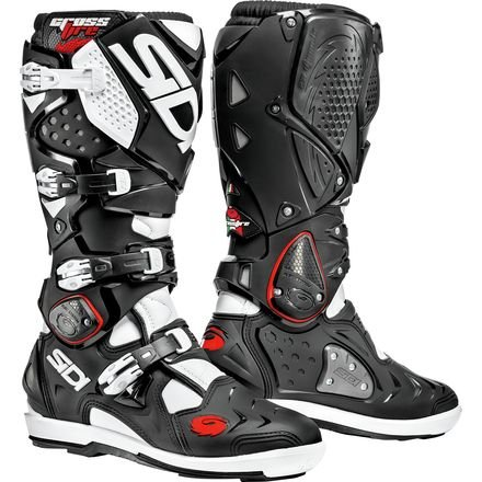 Off Road Motorcycle Boots Black/White US 11 / EU 45 (2 Off Road Boot)