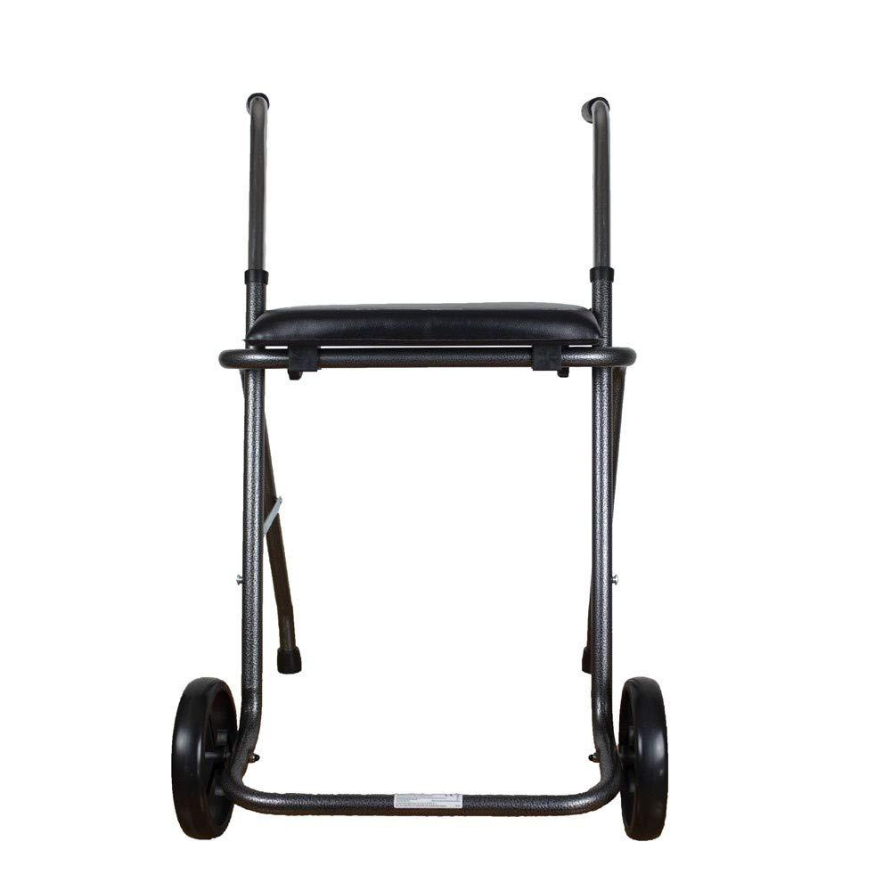 Apex | Andador plegable con dos ruedas y asiento, el más ...