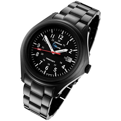 Armourlite Field Series Blue Tritium Watch