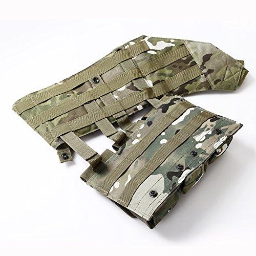 Onetigris Tactical Molle Shoulder Triple Magazine Pouch