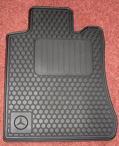 Genuine mercedes benz r129 sl all season rubber floor mat for Mercedes benz sl550 floor mats