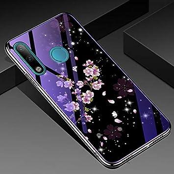 MIEOSEG Estuche de Vidrio Templado para Huawei P Smart Y7 Y9 Honor ...