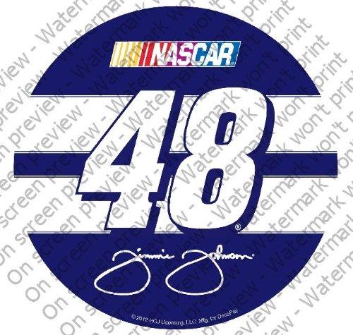Jimmie Johnson Birthday - 1/4 Sheet ~ Nascar Jimmie Johnson #48 Logo ~ Edible Image Cake/Cupcake Topper!!!