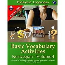 Parleremo Languages Basic Vocabulary Activities Norwegian - Volume 4